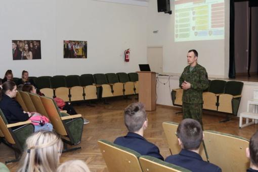 Lieporiuose paminėta Lietuvos kariuomenės diena