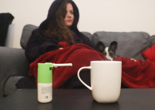 Išaugo sergamumas gripu ir peršalimo ligomis