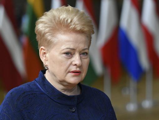 Prezidentės D. Grybauskaitės užsienio vizitai 2019-aisiais