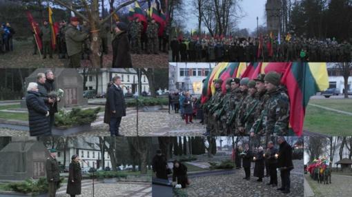 Paminėtas Lietuvos kariuomenės šimtmečio jubiliejus
