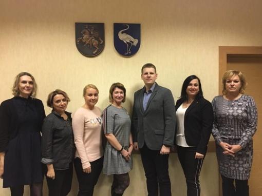 Vyko mokymai Savivaldybės jaunimo reikalų tarybos nariams