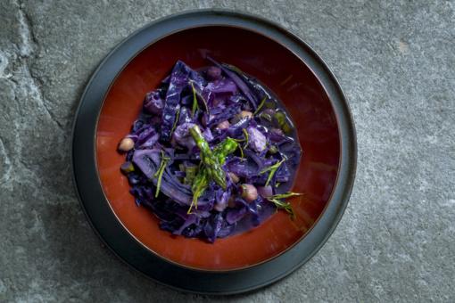 Savaitgalio pietums – netradicinė mėlynojo kopūsto sriuba ir Paryžiaus dvasia alsuojantis desertas