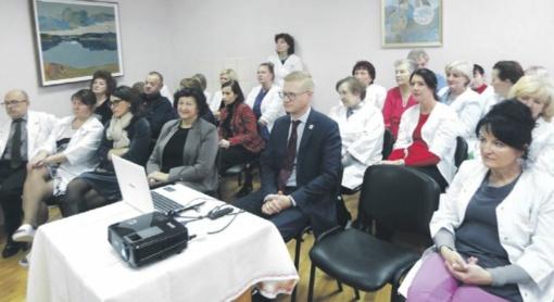 Seimo narių viešnagė ligoninėje ir kvietimas streikuoti