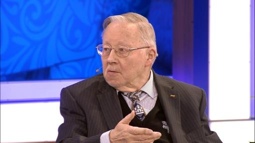 """Prof. Vytautas Landsbergis laidoje """"Yra, kaip yra"""" laužys visuomenės mitus apie """"prie ruso buvo geriau"""""""