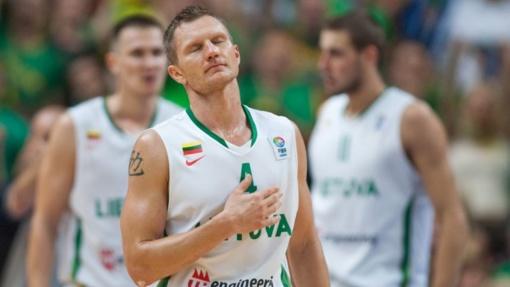 R. Kaukėnas: galiu tik padėkoti krepšiniui, Lietuvai ir šeimai, kad turėjau galimybę eiti į priekį ir gauti didžiulę patirtį