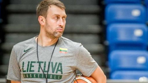 Lietuvos krepšinio rinktinės treneris M. Brazys: motyvacijos mums nepristigs