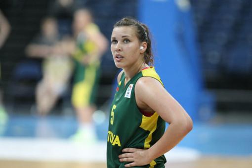 Geriausia Lietuvos krepšininkė K. Nacickaitė: apdovanojimas svarbus ateičiai