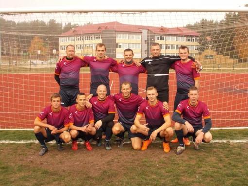 Varėnos futbolininkai – čempionai!