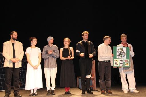 Profesionalus teatras sugrįžo į Uteną (fotogalerija)