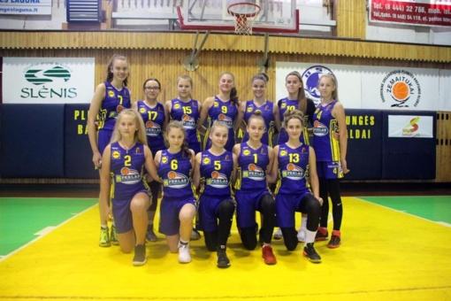 Plungės SRC krepšininkės iš Biržų grįžo su pergale