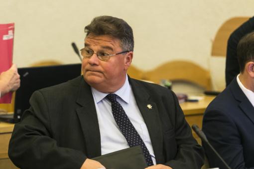 L. Linkevičius dalyvaus NATO užsienio reikalų ministrų susitikime