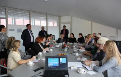 Elektrėnų savivaldybėje lankėsi penkių Ukrainos savivaldybių tarybų nariai, administracijų darbuotojai