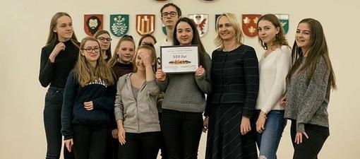 """Trakų rajono mokyklų jaunimas turės bendrystės naktį """"Pelėdos"""""""
