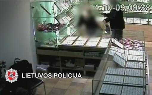 Klaipėdoje baigtas ginkluoto Plungės juvelyrikos parduotuvės apiplėšimo tyrimas