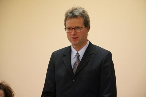 Darbą pradeda naujasis Anykščių ligoninės direktorius Audrius Vasiliauskas