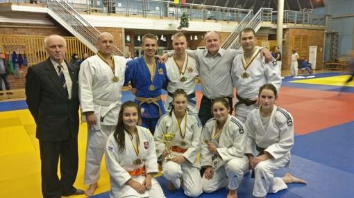 Šiauliečiai skynė pergales Naujametiniame Šiaulių miesto dziudo čempionate