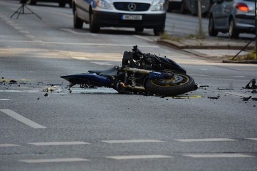 Palangoje per avariją nukentėjo motociklininkas