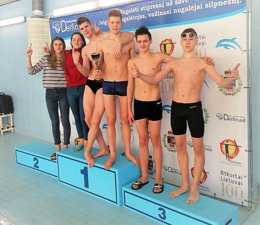 Šiauliuose praūžė Tarptautinės plaukimo varžybos