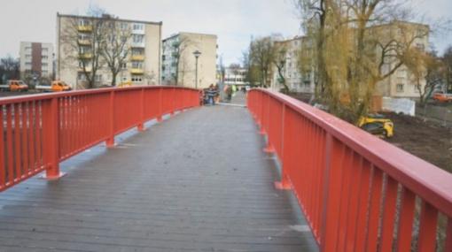 Atidaromas tiltas per Smilgos upelį