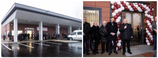 Nuo šiol gyventojai naudosis nauja autobusų stotimi su prekybos centru