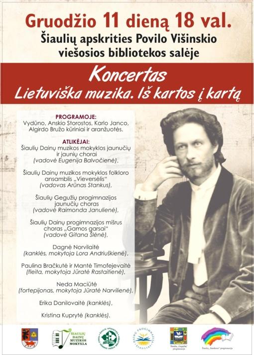 Lietuviška muzika. Iš kartos į kartą.