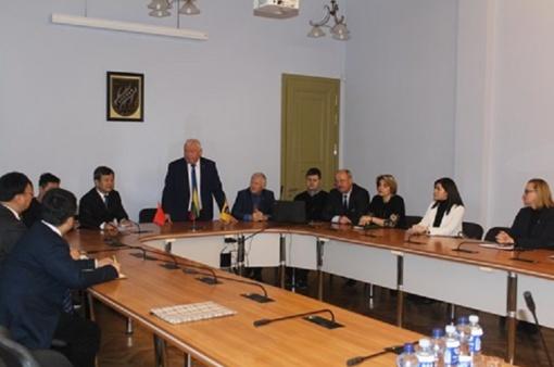 Aptartos Kazlų Rūdos ir Čangdė savivaldybių tarptautinio bendradarbiavimo galimybės