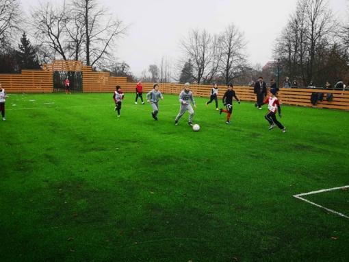 Naujojoje Vilnioje – nauja mažojo futbolo aikštelė