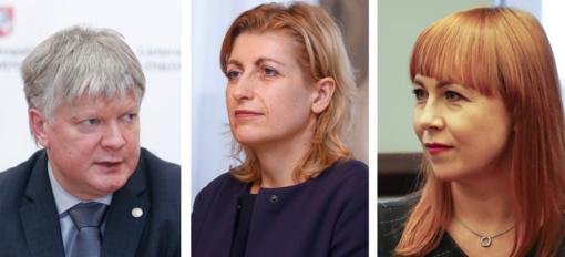 Trims ministrams - paskutinė darbo diena