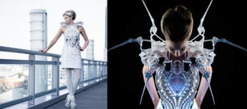 Mados pasaulio ateitis – 3D suknelės