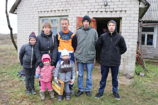 Stebulių naujakuriai laukia gerų rajono žmonių paramos