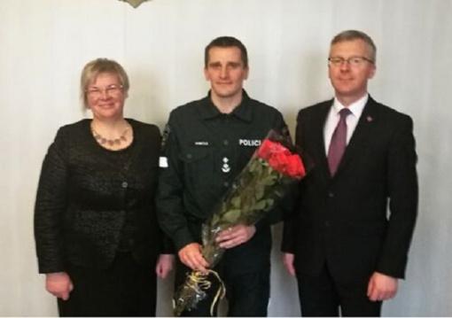 Jurbarko rajono policijos komisariatui dar penkerius metus vadovaus Aivaras Dumčius