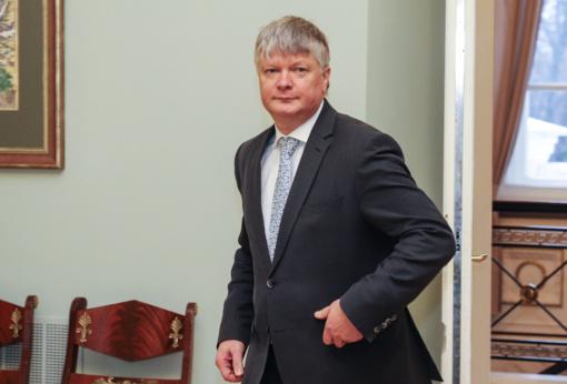 K. Navickas atsisveikino su Aplinkos ministerija