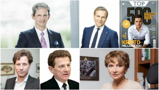 """Žurnalas """"Top"""" skelbia 500 turtingiausių lietuvių sąrašą"""