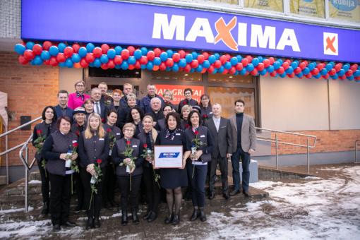 """Į atnaujintą parduotuvę Telšiuose """"Maxima"""" investavo 460 tūkst. eurų"""