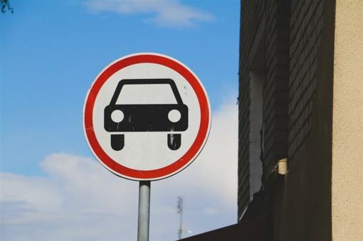 Dėl eismo ribojimo Alytuje