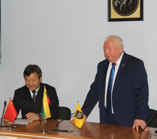 Aptartos Kazlų Rūdos ir Kinijos tarptautinio bendradarbiavimo galimybės