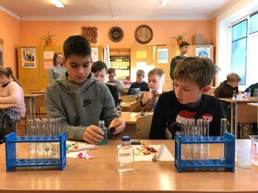 Mokslo dienos Šiaulių miesto mokiniams