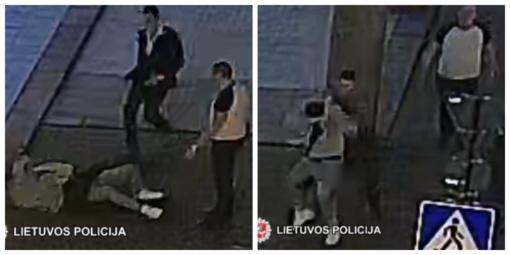 Pareigūnai prašo pagalbos – atpažinti vaizdo kamerų užfiksuotus vyrus