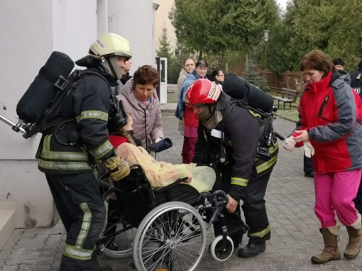 Šiaulių mieste vyko civilinės saugos kompleksinės pratybos