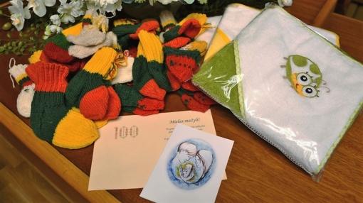 2018-aisiais Vilniaus rajono naujagimiai džiuginti išskirtinėmis dovanomis