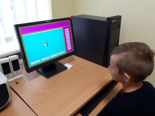 Pradinukai mokosi informatikos