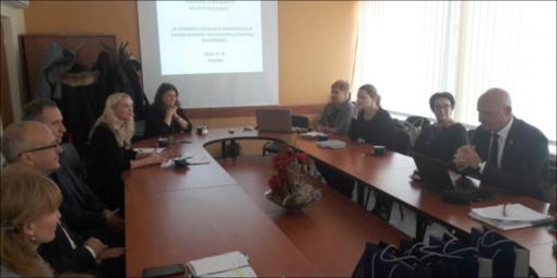 Savivaldybių gydytojai aptarė tuberkuliozės prevencijos, triukšmo valdymo klausimus