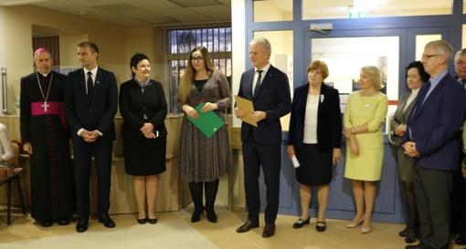 Atidarytas atnaujintas ir modernus Moters ir vaiko klinikos Vaikų priėmimo-skubiosios pagalbos skyrius