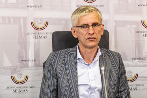 Liberalų sąjūdžio kandidatas į Vilniaus merus - M. Nagevičius