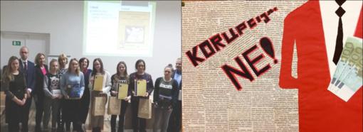 Apdovanoti piešinių konkurso nugalėtojai