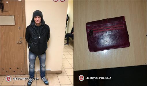 Kriminalistams su įkalčiais įkliuvo kišenvagis