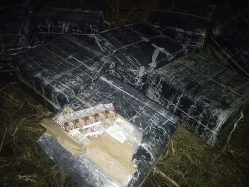 Iš Rusijos cigaretes kontrabandininkai atsiplukdė Vištyčio ežeru