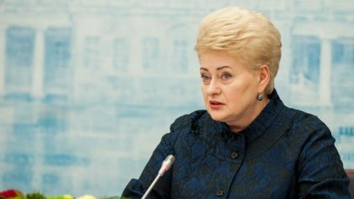 D. Grybauskaitė: gali tekti apsispręsti, ar svarbiau struktūriniai fondai, ar žemės ūkis, ar Ignalina