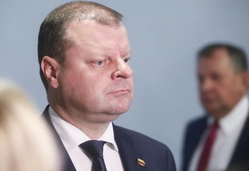 S. Skvernelis paaiškino, kodėl kaltino konservatorius dirbant Kremliui