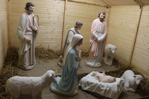 Prakartėlės pašventinimo renginys Šiauliuose kvies prisiminti tikrąją šv. Kalėdų prasmę